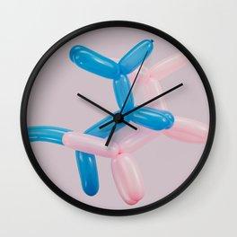 Koons Baloons Wall Clock