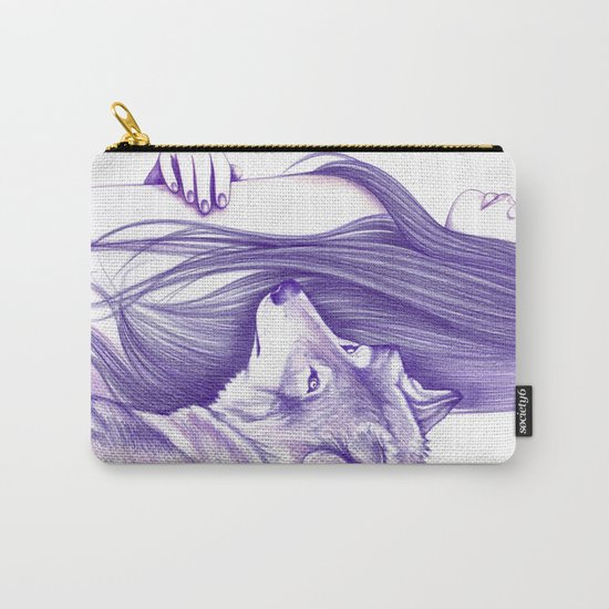 Mirrors Carry-All Pouch