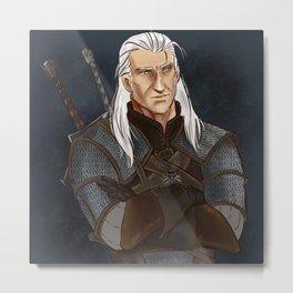 Geralt Metal Print