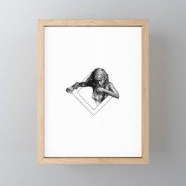 Sling Framed Mini Art Print