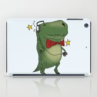 dinosaur iPad Cases featuring Dinosaur by BlandinePannequin