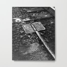 BW49 Sign Metal Print