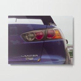 Lancer Metal Print