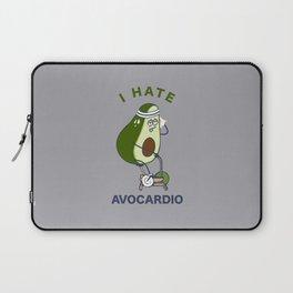 I Hate Avo cardio Laptop Sleeve