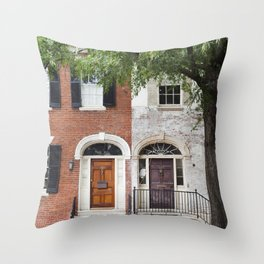 Alexandria, VA Throw Pillow