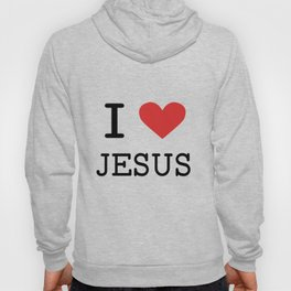 Christian,Bible Quote,I love Jesus Hoody