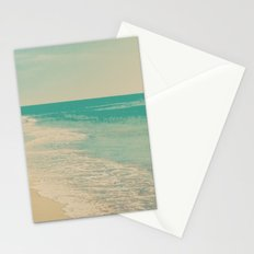 Love Comes In Sea Waves Stationery Cards