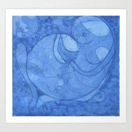 gestation Art Print