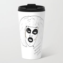 Beautiful Spooky Stupid Travel Mug