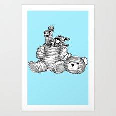 Bearer Bonds Art Print