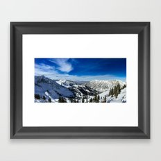 Ski Vista Framed Art Print