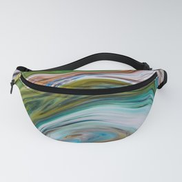 Colored Swirls 02 Fanny Pack