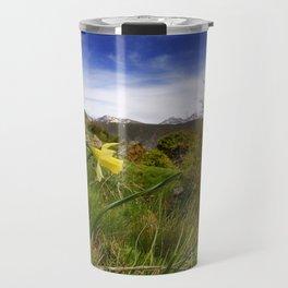 """""""Narcisus Nevadensis"""". Mountain Endemic flower  Travel Mug"""