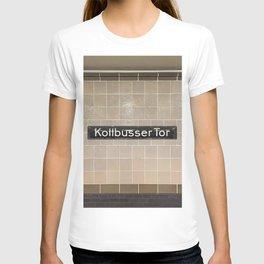 Berlin U-Bahn Memories - Kottbusser Tor U8 T-shirt