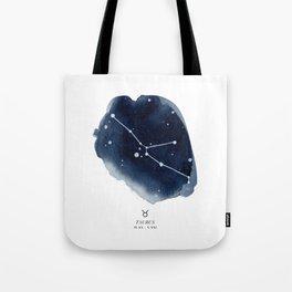 Zodiac Star Constellation - Taurus Tote Bag