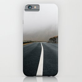 Lonely Road in Ireland iPhone Case