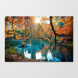 Magical Fall Canvas Print