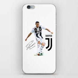 Ronaldo Juventus 2018 iPhone Skin