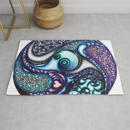 Round and Round (Hello Octopus) Rug