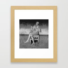 Study in Love Framed Art Print