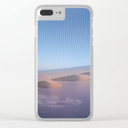 Flying High at Sunset Clear iPhone Case
