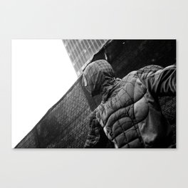 He is back Canvas Print