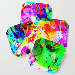 experimental art Coaster