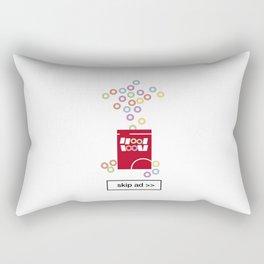 cereal ad Rectangular Pillow