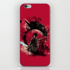 bad side of the samurai iPhone & iPod Skin