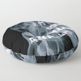Smoke Quote Floor Pillow