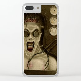 Frankenstein Monster 200th Anniversary Clear iPhone Case
