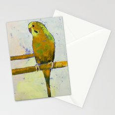 Three Parakeets Stationery Cards