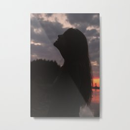 To The Tall Trembling Trees Metal Print