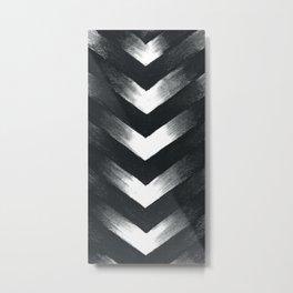 Charcoal Point Metal Print