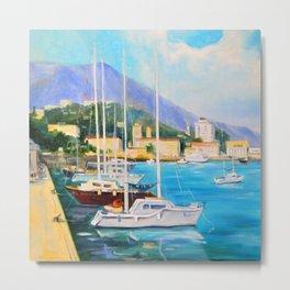 Boat dock Metal Print