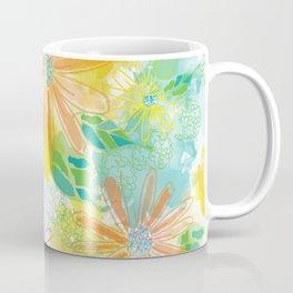 Watercolor bright florals Coffee Mug