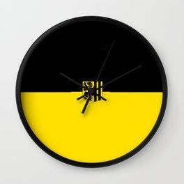 Flag of Dresden Wall Clock