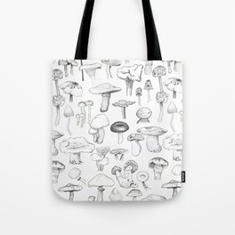 The mushroom gang Tote Bag