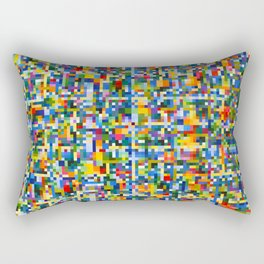 Dancing Star Detail Rectangular Pillow