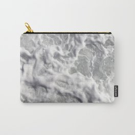 Sea wave foam Carry-All Pouch