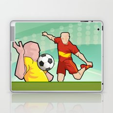 Soccer game Laptop & iPad Skin