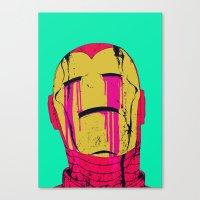 boneface Canvas Prints featuring Smack! by boneface