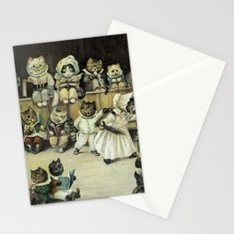 Cats At School - Louis Wain Cats Stationery Cards
