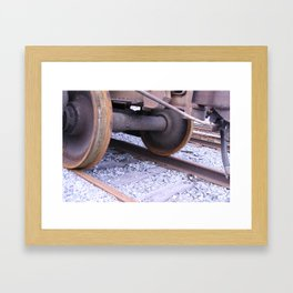 Wheels Framed Art Print
