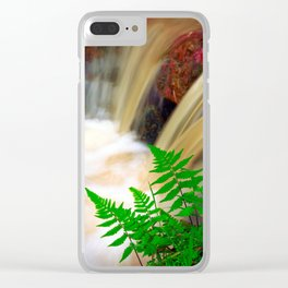 Ferrous thermal water Clear iPhone Case