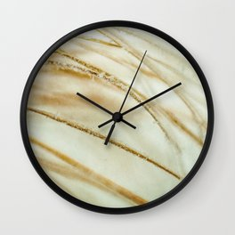 Frosted Lakes Wall Clock