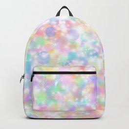 Rainbow Bubbles of Light Backpack