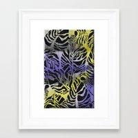 safari Framed Art Prints featuring Safari by Vikki Salmela