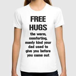 Free (Dad) Hugs T-shirt