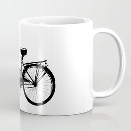 Baker's bicycle with bird Coffee Mug